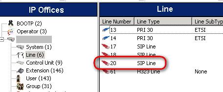 Setup 3CX phone system vs Avaya IP 500